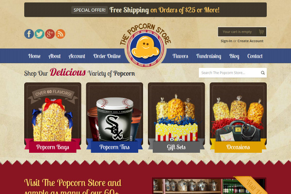 The Popcorn Stores